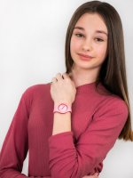 Zegarek fashion/modowy ICE Watch Ice-Duo ICE.001491 ICE duo Pink red rozm. S - duże 4