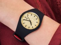ICE Watch ICE.007238 ICE loulou Gold Glitter zegarek fashion/modowy ICE-Loulou