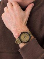 Timex TW2T27800 męski zegarek Waterbury pasek