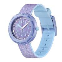 Zegarek fioletowy klasyczny  Power Time FCSP102 pasek - duże 5