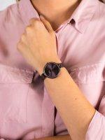 Zegarek fioletowy klasyczny Pierre Ricaud Bransoleta P22061.011GQ bransoleta - duże 5