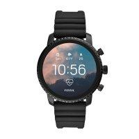 Zegarek Fossil Smartwatch smartwatches Gen 4 Smartwatch Explorist HR Black Silicone - męski  - duże 9