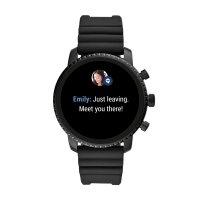 Zegarek Fossil Smartwatch smartwatches Gen 4 Smartwatch Explorist HR Black Silicone - męski  - duże 8