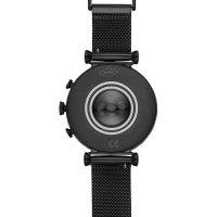 Fossil Smartwatch FTW6050 Gen 4 Smartwatch Sloan HR Black Stainless Steel Mesh zegarek sportowy Fossil Q