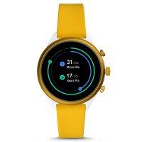 zegarek Fossil Smartwatch FTW6053 żółty Fossil Q