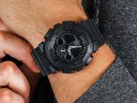 G-Shock GA-100-1A1ER G-SHOCK Original Big Bang zegarek męski sportowy mineralne