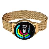 Garett 5903246282306 zegarek różowe złoto sportowy Damskie bransoleta