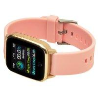 zegarek Garett 5903246286373 kwarcowy damski Damskie Smartwatch Garett Lady Viki złoty
