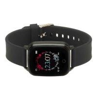 zegarek Garett 5903246286397 kwarcowy damski Damskie Smartwatch Garett Lady Viki czarny