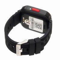 zegarek Garett 5903246286861 Smartwatch Garett Kids 4You czarny dla dzieci z gps Dla dzieci