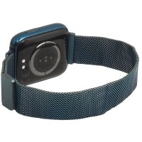 zegarek Garett 5903246287127 kwarcowy damski Damskie Smartwatch Garett Women Eva RT niebieski stalowy