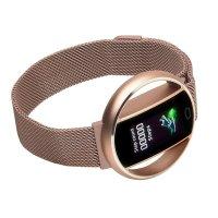 Garett 5903246287189 zegarek różowe złoto sportowy Damskie bransoleta