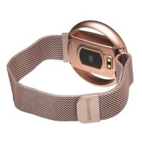 zegarek Garett 5903246287189 kwarcowy damski Damskie Smartwatch Garett Women Nicole RT różowy stalowy
