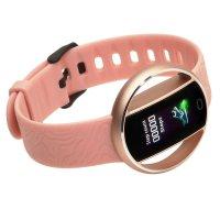 Garett 5903246287196 zegarek różowy sportowy Damskie pasek