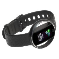 Garett 5903246287219 zegarek czarny sportowy Damskie pasek