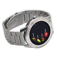 Zegarek Garett 5903246287295 Smartwatch Garett GT22S RT srebrny stalowy - duże 4
