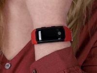zegarek Garett 5906874848760 kwarcowy męski Smartbandy - Opaski sportowe Smartband Opaska Sportowa Garett FIT 20 GPS Czerwony