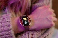 Zegarek Garett Smartwatch Garett Women Nicole RT różowy stalowy - damski