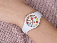 zegarek ICE Watch ICE.017582 biały Ice-Flower