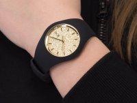 ICE Watch ICE.001355 ICE glitter black gold rozm. M zegarek fashion/modowy Ice-Glitter