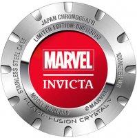 zegarek Invicta 25689 kwarcowy męski Marvel MARVEL SPIDERMAN