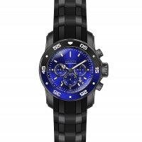 Invicta 26128 zegarek czarny sportowy Pro Diver pasek