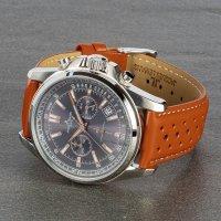Jacques Lemans 1-1117.1WP zegarek srebrny sportowy Sport pasek