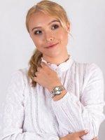 Anne Klein AK-3407SVTT zegarek damski Bransoleta