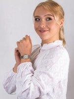 Anne Klein AK-3409SVTT zegarek damski Bransoleta