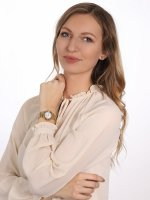 Anne Klein AK-3692MPGB zegarek damski Bransoleta
