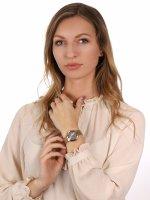 Anne Klein AK-3710PKGB zegarek damski Bransoleta