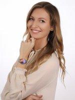 Anne Klein AK-3777MTSV zegarek damski Bransoleta