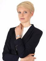 Anne Klein AK-3803MPSV zegarek damski Bransoleta