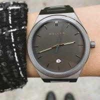 Meller 11PN-3.2SILVER Nairobi Black Silver zegarek klasyczny Nairobi