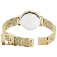 Obaku Denmark V248LXGIMG zegarek złoty klasyczny Slim bransoleta