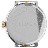 Timex TW2U60200 zegarek srebrny klasyczny Standard bransoleta