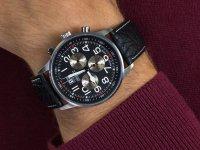 Zegarek klasyczny Adriatica Pasek A1076.5224CHSIL Aviation - duże 6