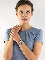 Anne Klein AK-2989SVSV zegarek damski Bransoleta