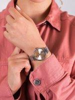 Anne Klein AK-3001LPSV damski zegarek Bransoleta bransoleta