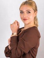 Anne Klein AK-3358PMRG zegarek damski Bransoleta