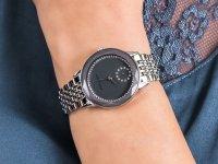 Anne Klein AK-3507GYSV zegarek klasyczny Bransoleta