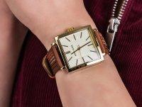 Anne Klein AK-2740CHBN zegarek klasyczny Pasek
