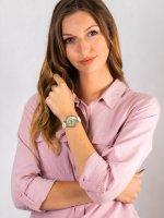 Anne Klein AK-2790CMWT zegarek damski Pasek