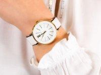 Anne Klein AK-3252WTBK zegarek klasyczny Pasek