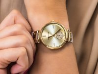 Anne Klein AK-3380CHWT zegarek klasyczny Pasek