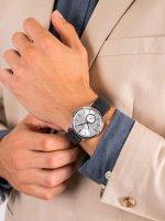 Bisset BSCE58SISD05BX męski zegarek Klasyczne pasek