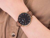 Zegarek klasyczny Cluse La Boheme CL18003 Rose Gold Black/Brown - duże 6
