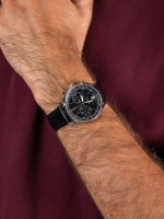 zegarek Delbana 41601.672.6.034 męski z tachometr Retro Chronograph
