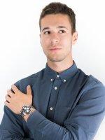 Zegarek klasyczny Guess Bransoleta W1107G3 - duże 4