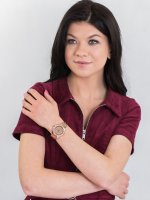 Zegarek klasyczny Guess Bransoleta W1235L3 - duże 4